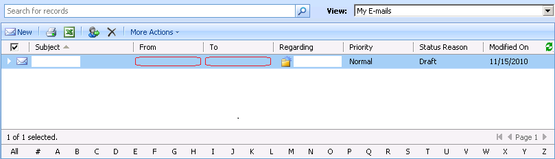 how to show hide menu items in dynamics crm