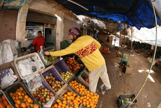 hirsch in morocco - a rare grocery purchase