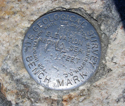 Grand Teton summit marker - photo by Kendall Card