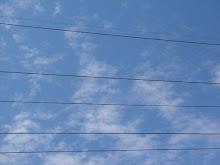 Pentagrama de nubes!