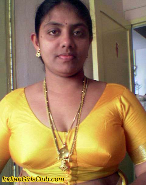 Indian Aunty Removing Blouse