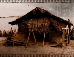 antigas casas de taipa e palha