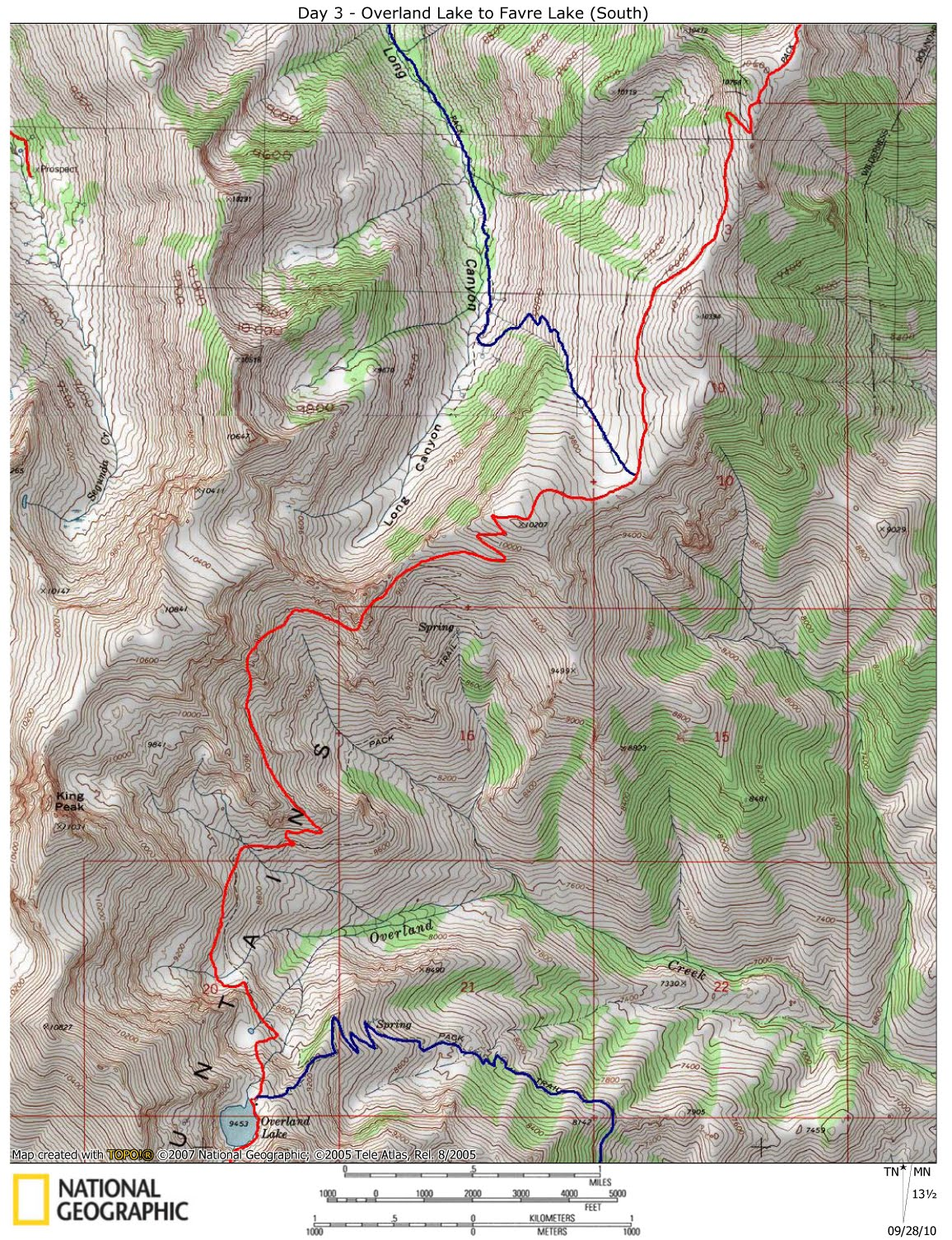 Ruby Mountain Trails: Ruby Crest Trail - beta, maps and photos on map of jarbidge wilderness nevada, map of elko county nevada, map of ruby mountains nevada, map of spring creek nevada,