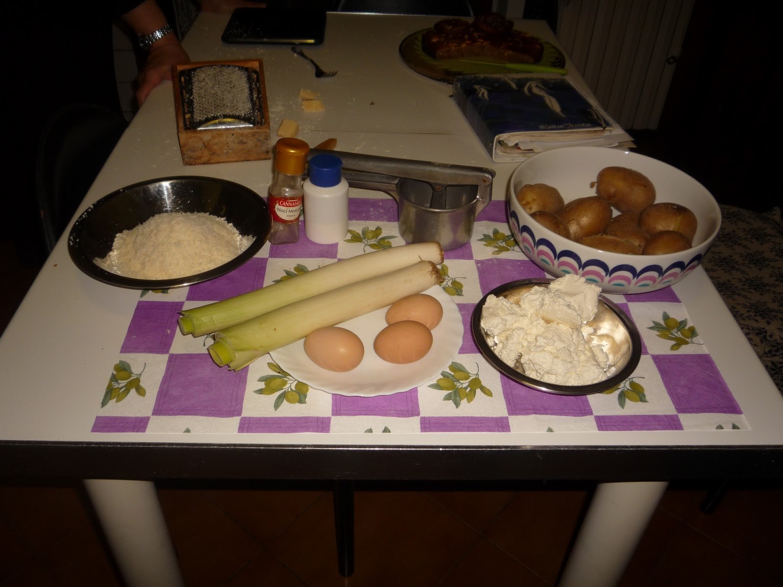 Mattarello 4 beginners torta di patate di berceto for Aggiunta suocera