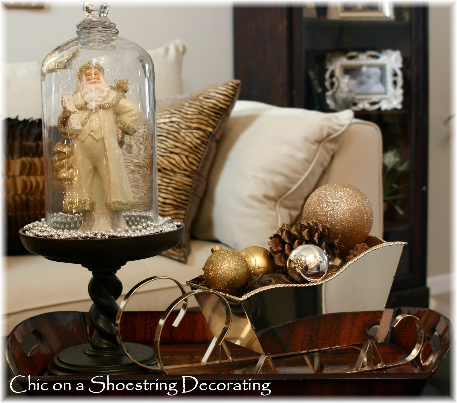chic on a shoestring decorating not so simple christmas