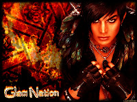 Adam Lambert Glam Nation fire desktop wallpaper