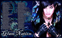 Adam Lambert Glam Nation Voodoo tour dates desktop wallpaper