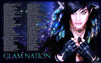 Adam Lambert Glam Nation space tour dates desktop wallpaper