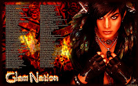 Adam Lambert Glam Nation fire tour dates desktop wallpaper