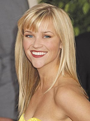 reese witherspoon long hair with bangs. reese witherspoon hair 2010