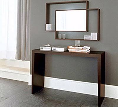 Interior Design Blog: Modern Console Tables Furniture Design
