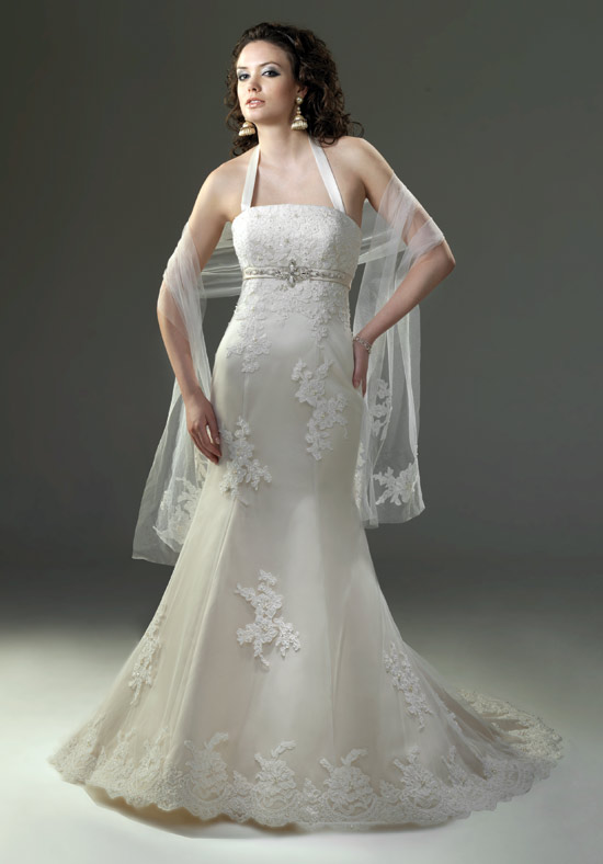 unique wedding ideas halter neck wedding dresses