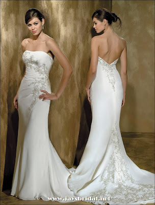 Strapless Wedding Gowns Dresses for Destination Bridal