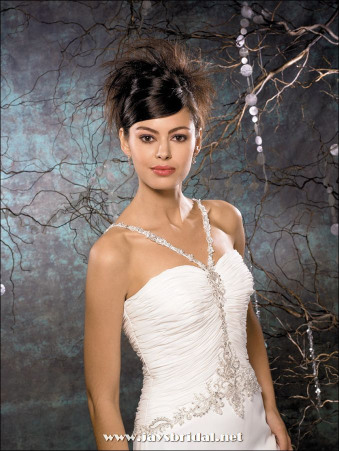 The Most Stylish Dresses And Wedding: Strapless Wedding Gowns ...