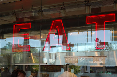 neon EAT at Taylor's in Napa