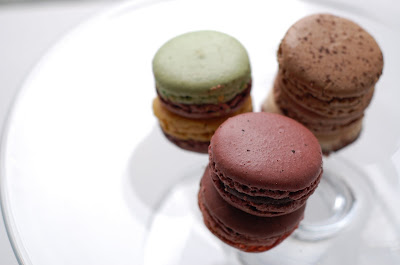 J. P. Hevin macarons, stacked