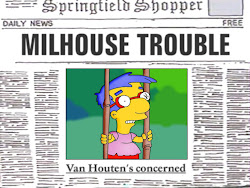 Milhouse In Trouble