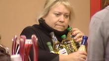 Tina has a snack