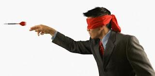 Blindfold Darts
