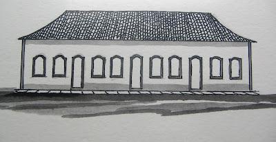Casas do Palácio Conde dos Arcos - 1750