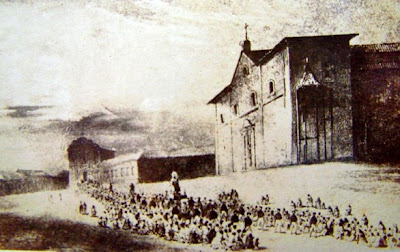 Procissão no Largo da Matriz - 1844