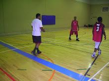 Partida de basquetebol na jornada do 11 de novembro 2008, sexta-feira, 23hrs00 do dia 14 no 419