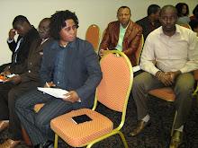 Presentes: Sr. Milton Landao, 1* Presidente - CAM, Sr. Matondo Muinza, Resp. do patrimonio - CAM,
