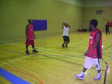 CAM VS Haiti, em destaque José Manuel, tenta um triplo sem osso a kobe Brian