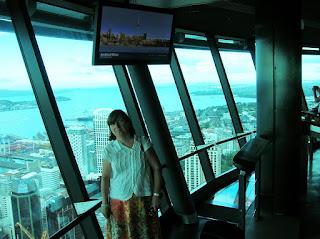 Sky Tower, Auckland, Nueva Zelanda, vuelta al mundo, round the world, La vuelta al mundo de Asun y Ricardo