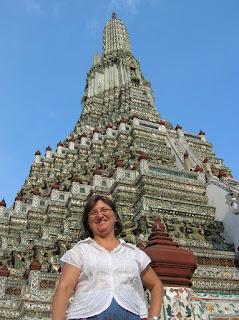 Templo del Amanecer, Wat Arun, Bangkok, Tailandia, Tahilandia, vuelta al mundo, round the world, La vuelta al mundo de Asun y Ricardo