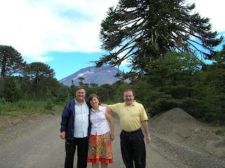 Araucaria, Volcán Lonquimay, Chile, vuelta al mundo, round the world, La vuelta al mundo de Asun y Ricardo