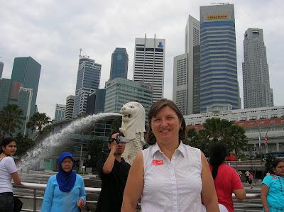 Merlion, Singapur, Singapore, vuelta al mundo, round the world, La vuelta al mundo de Asun y Ricardo