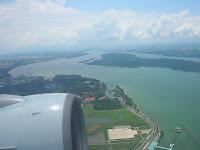 Vista aérea de Singapur, Singapore, vuelta al mundo, round the world, La vuelta al mundo de Asun y Ricardo