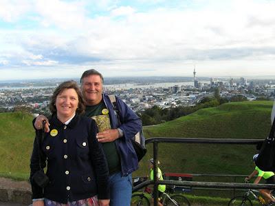 Mt Eden, Auckland, Nueva Zelanda, vuelta al mundo, round the world, La vuelta al mundo de Asun y Ricardo