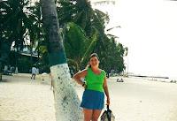 playa de la ciudad de san andrés, isla de san andres, colombia, caribe,San Andres Island, Colombia, Caribbean, vuelta al mundo, asun y ricardo, round the world