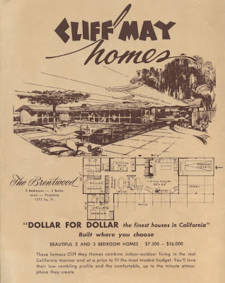 Claremont Modernism Cliff May Homes Brochure