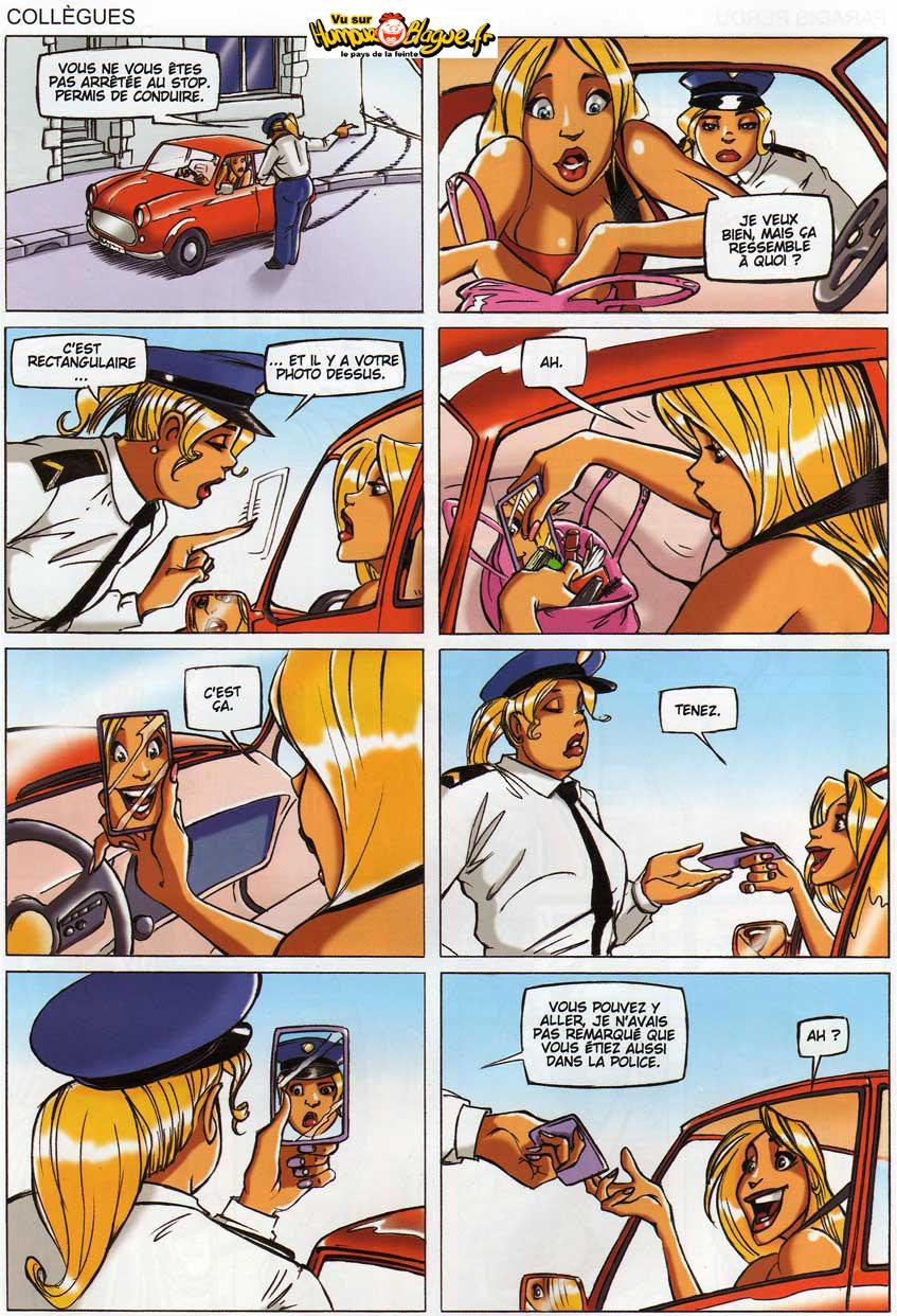 Humour sur les blondes. Blonde