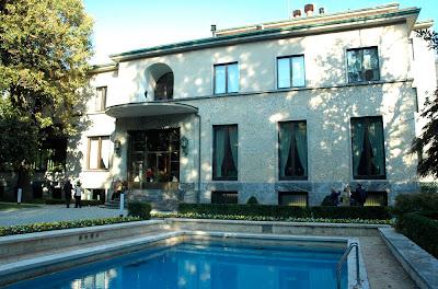 Taccuini internazionali una visita a villa necchi for Villa necchi campiglio milano