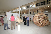 TORINO - Mostra Internazionale di Scultura a: NAVE GALLERY di Grugliasco, apertasi il 17/9