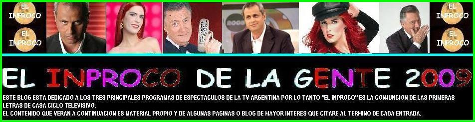 EL INPROCO DE LA GENTE 2009