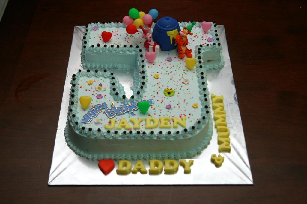 Haven Bakery Baby Jayden 1st Birthday Cake