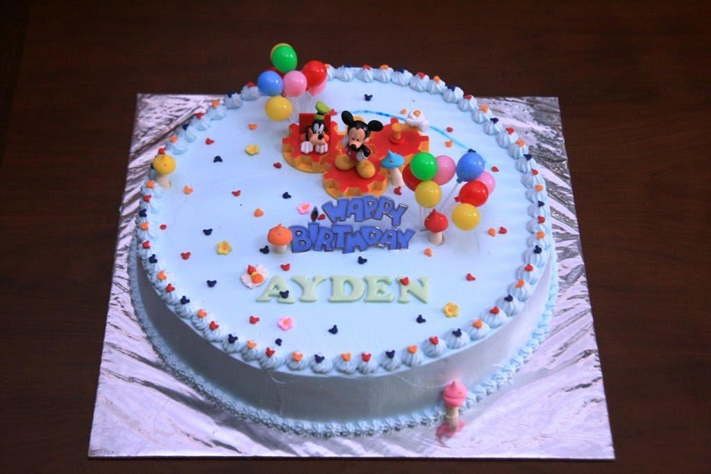 Haven Bakery Ayden Birthday Cake