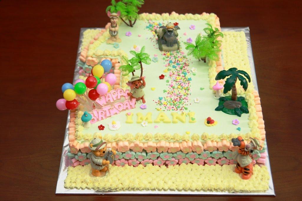 Haven Bakery Imani 1st Birthday Cake