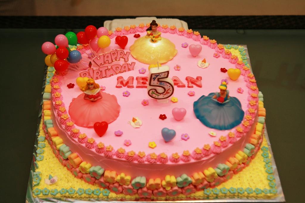 Haven Bakery Princess Megan Birthday Cake