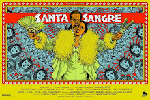 SANTA SANGRE MOVIE POSTER FOR THE ALAMO DRAFTHOUSE