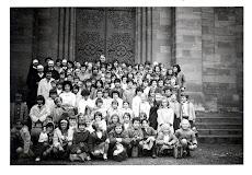 1963 : Excursion scolaire de fin d'année à Blotzheim sous la pluie
