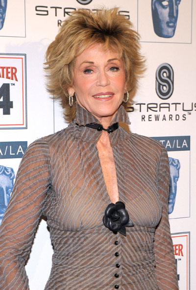 Hot USA News 4 U: Jane Fonda Golden Globes