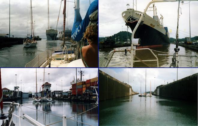 Passage du mythique canal de Panama