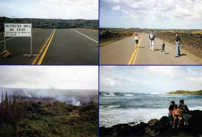 Des volcans en activités
