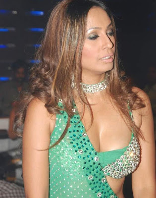 Kashmira Shah green boobs